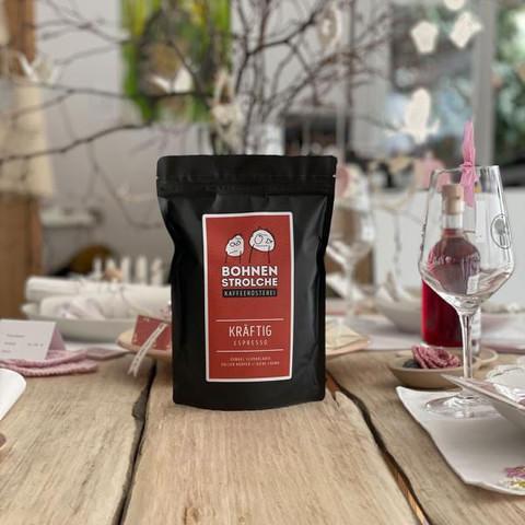 (18006) Espresso KRÄFTIG 250g ganze Bohne