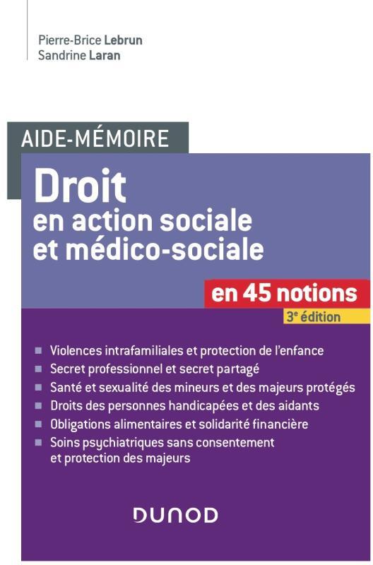 Droit en action sociale et médicosociale